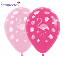 "Sempertex Flamingo Assorted Pink 12"" Latex 25pk"