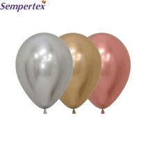 "Reflex Classic Assortment 5"" Latex Balloons 50pk"