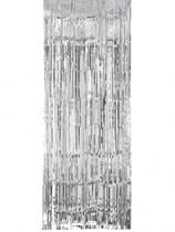Silver Metallic Door Curtain