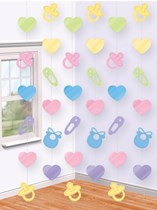 Baby Shower Hanging String Decorations