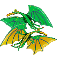 "Green Dragon 36"" Foil Balloon"