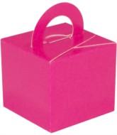 Balloon Weight/Gift Boxes Fuchsia - 10pk