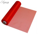 Red Organza Roll - 29cm x 25M