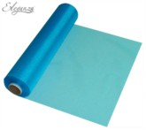Turquoise Organza Roll - 25M