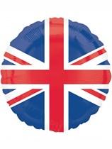 "Union Jack Flag 18"" Foil Balloon"