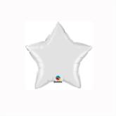 "White 4"" Star Foil Balloon"