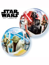 "Star Wars 12"" Air Fill Bubble Balloons 10pk"