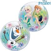 "Frozen Fever 12"" Air Fill Bubble Balloons 10pk"