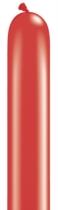 "260Q (2"" x 60"") Pearl Ruby Red Latex Modelling Balloons 100pk"