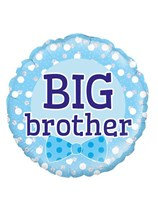 "Blue Big Brother 18"" Foil Balloon"