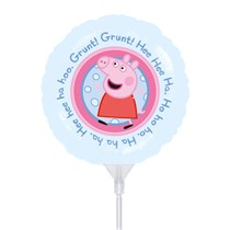 Peppa Pig Mini Shape Foil Balloon (air fill)