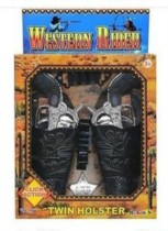 Wild West Twin Holster Toy