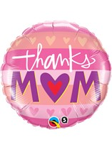 "Mother's Day Thanks Mum 18"" Foil Balloon"