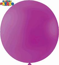 "Globos Mexican Pink 2ft (24"") Latex Balloons 10pk"