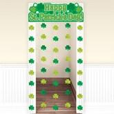 St. Patrick's Day Shamrock Hanging Door Decoration