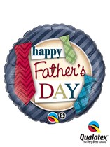 "Happy Father's Day Ties 18"" Foil Balloon"