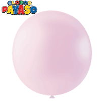 "Macaroon Strawberry 24"" Latex Balloons 10pk"