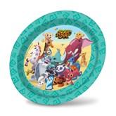 "Animal Jam 9"" Paper Plates 8pk"