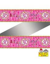 Rachel Ellen Perfect Pink Age 30 Foil Banner