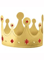 Assorted Colour Card Crowns 12pk