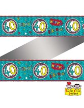 Rachel Ellen Blue Age 40 Foil Banner