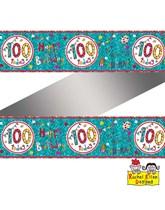 Rachel Ellen Blue Age 100 Foil Banner