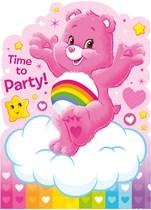 Care Bears Invitations & Envelopes 6pk