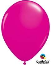 "11"" Wild Berry Latex Balloons 100pk"