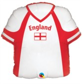 "22"" England Shirt Foil Balloon"