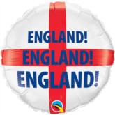 "18"" St George's Cross England Foil Balloon"