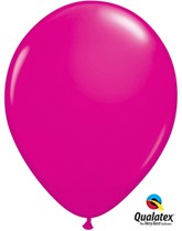 "11"" Wild Berry Latex Balloons - 25pk"