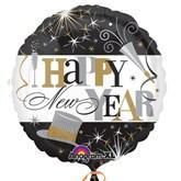 "Elegant Happy New Year 18"" Foil Balloon"