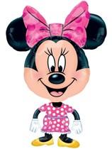 """Minnie Mouse 31"""" AirWalker Foil Balloon"""