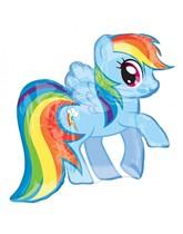 "My Little Pony Rainbow Dash 27"" Supershape Foil Balloon"