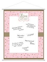 Love Always & Forever Hanging Sign In Scroll