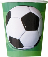 8 Football 9oz Paper Cups