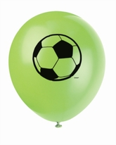 "8 Football 12"" Latex Balloons"