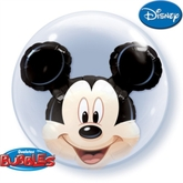 Mickey Mouse Double Bubble Balloon 24""