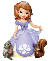 "Sofia the First  48"" Airwalker Foil Balloon"