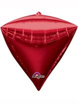 Diamondz Red Decorative Balloon