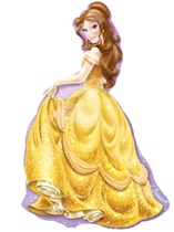 Belle Beauty & The Beast Supershape Foil Balloon