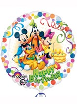 "Mickey Mouse Happy Birthday 18"" Foil Balloon"