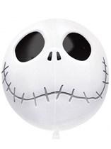 """Halloween Jack Skellington 15"""" Orbz Balloon"""