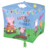 Peppa Pig and Friends Cubez Foil Balloon
