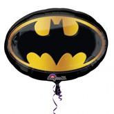 "Batman Emblem Supershape Foil Balloon 27"""