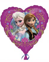 """Disney Frozen Heart Shaped 18"""" Foil Balloon"""