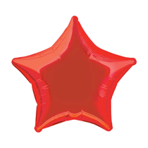 "Red 18"" Star Foil Balloon"