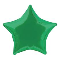 "Green 18"" Star Foil Balloon"