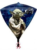 """Star Wars 17"""" Diamondz Foil Balloon"""