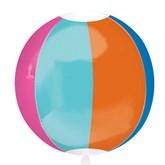 "Beach Ball Orbz Foil 16"" Balloon"